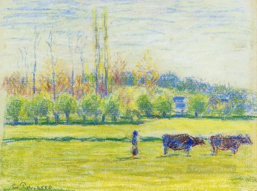 near eragny Camille Pissarro Oil Paintings