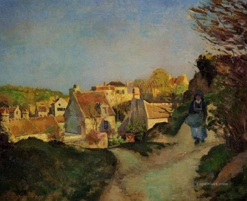 a part of jallais pontoise 1875 Camille Pissarro Oil Paintings
