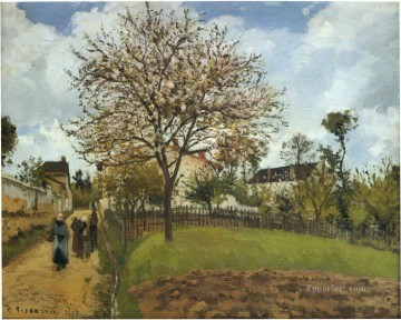 landscape at louveciennes 1870 Camille Pissarro Oil Paintings