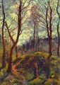 landscape with big trees Camille Pissarro