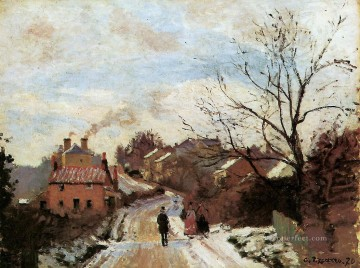Camille Canvas - lower norwood 1871 Camille Pissarro