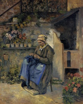 Mother Art - mother jolly 1874 Camille Pissarro