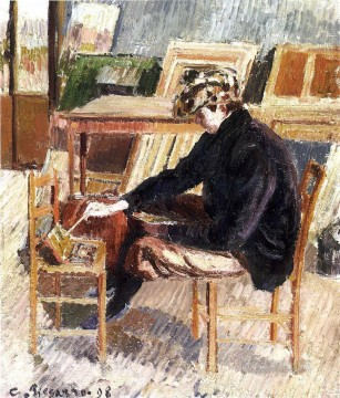 1898 Works - paul study 1898 Camille Pissarro