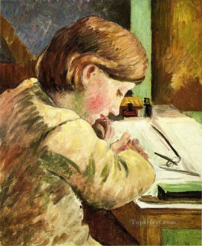 paul writing Camille Pissarro Oil Paintings