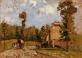 road in port maryl 1872 Camille Pissarro