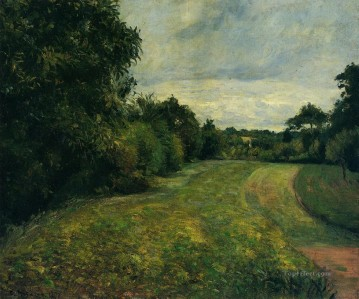 Camille Pissarro Painting - the backwoods of st antony pontoise 1876 Camille Pissarro