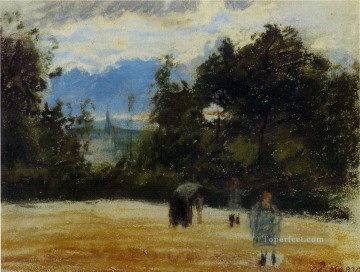 the clearing Camille Pissarro Oil Paintings