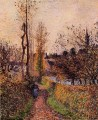 the path of basincourt 1884 Camille Pissarro