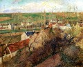 view of osny near pontoise 1883 Camille Pissarro