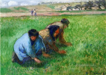 weeders 1882 Camille Pissarro Oil Paintings