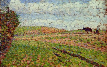 Working Works - working at eragny Camille Pissarro