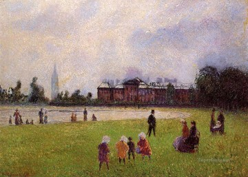 London Art - kensington gardens london 1890 Camille Pissarro