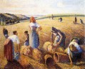the gleaners 1889 Camille Pissarro