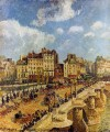 the pont neuf 1902 Camille Pissarro
