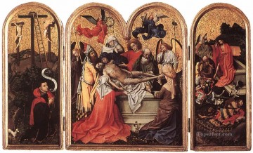 Seilern Triptych Robert Campin Oil Paintings