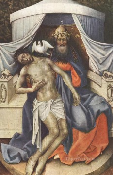 Holy Trinity Robert Campin Oil Paintings