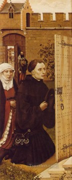 left Canvas - Merode Altarpiece Left Wing Robert Campin