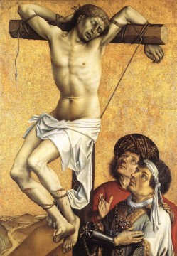 The Crucified Thief Robert Campin Oil Paintings