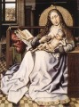 The Virgin And Child Before A Firescreen Robert Campin