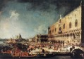 Arrival of the French Ambassador in Venice Canaletto