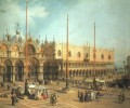 Piazza San Marco Looking Southeast Canaletto