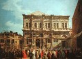 The Feast Day of St Roch Canaletto