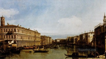 Canaletto Painting - Grand Canal Canaletto