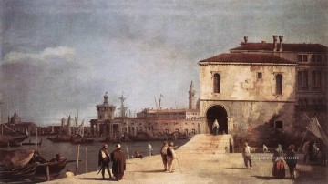 Canaletto Painting - The Fonteghetto Della Farina Canaletto