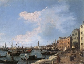 on - The Riva Degli Schiavoni Canaletto