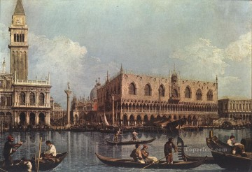 Canaletto Painting - View of the Bacino di San Marco St Marks Basin Canaletto