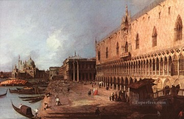 Canaletto Painting - Doge Palace Canaletto
