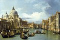 The Grand Canal and the Church of the Salute Canaletto