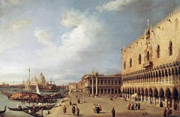 Canaletto Painting - View of the Ducal Palace Canaletto