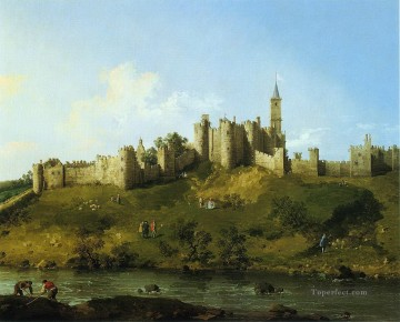 Canaletto Painting - alnwick castle Canaletto