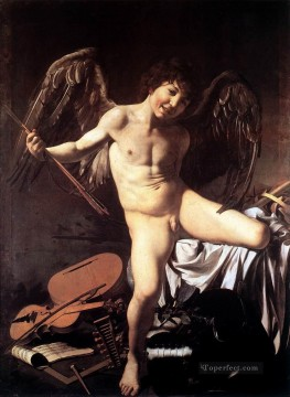 Amor Victorious Caravaggio Oil Paintings