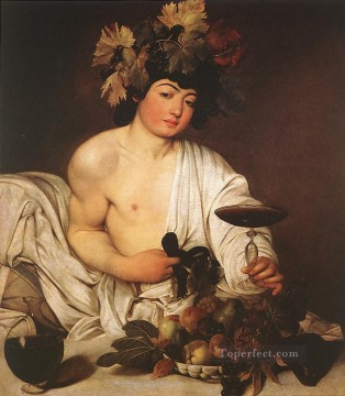 Bacchus Caravaggio Oil Paintings