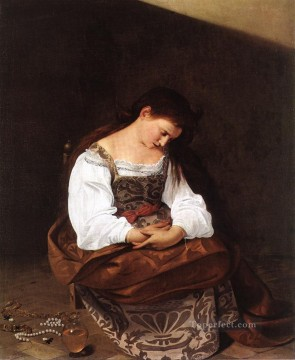 Magdalene Caravaggio Oil Paintings