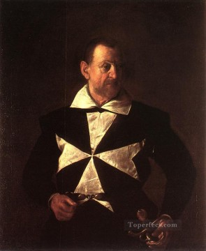 Portrait of Alof de Wignacourt2 Caravaggio Oil Paintings
