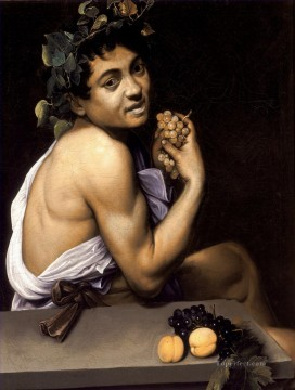 Sick Bacchus Caravaggio Oil Paintings