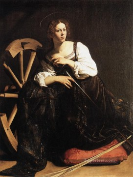 St Catherine of Alexandria Caravaggio Oil Paintings