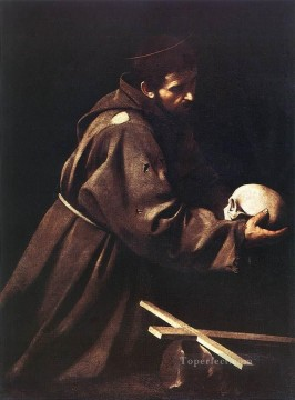 St Francis1 Caravaggio Oil Paintings