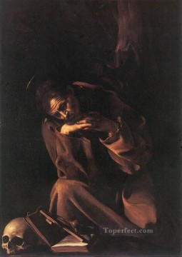 St Francis2 Caravaggio Oil Paintings