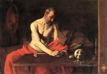 St Jerome Caravaggio Oil Paintings