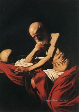 St Jerome1 Caravaggio Oil Paintings