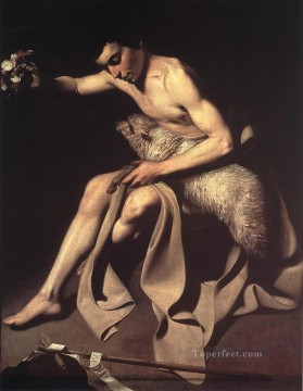 St John the Baptist Caravaggio Oil Paintings