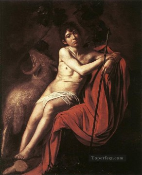 St John the Baptist3 Baroque Caravaggio Oil Paintings