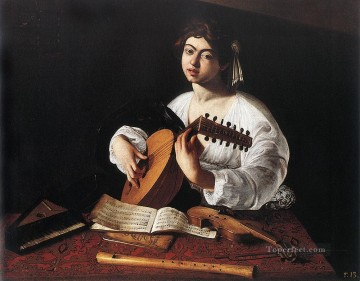 The Lute Player Caravaggio Oil Paintings