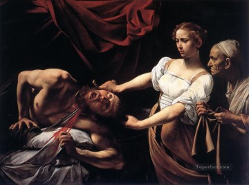 Judith Beheading Holofernes Caravaggio Oil Paintings