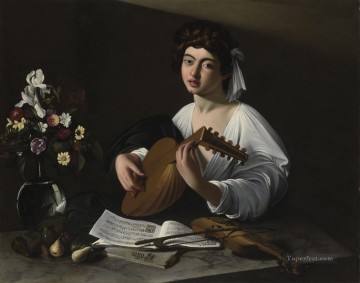 Lute Player Caravaggio Oil Paintings