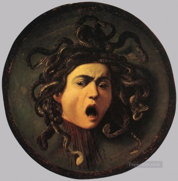 Medusa Caravaggio Oil Paintings